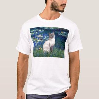 ユリ5 -青ポイントシャム猫 Tシャツ