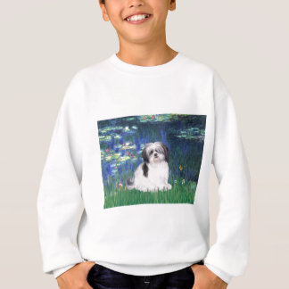 ユリ5 - (a)シーズー(犬) Tzu スウェットシャツ