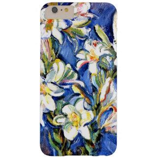 ユリ、花の絵画 スリム iPhone 6 PLUS ケース