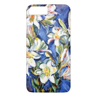 ユリ、花の絵画 iPhone 7 PLUSケース