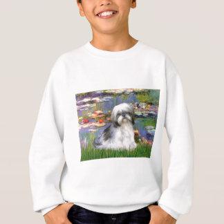ユリ(#2) -シーズー(犬) Tzu #5 スウェットシャツ