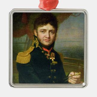 ユリF. Lisyansky 1810年のポートレート メタルオーナメント