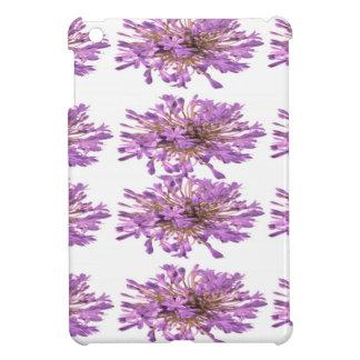 ユリLILLYの花-紫色のすみれ色のVoilet iPad Mini カバー