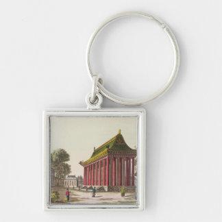 ユンMing元のillustratの「ヨーロッパ宮殿」 キーホルダー