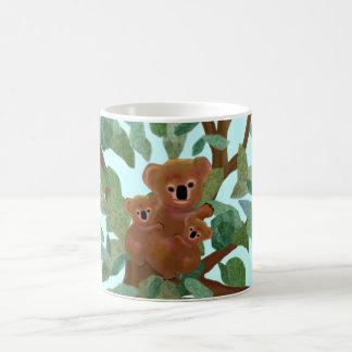 ユーカリのコアラ コーヒーマグカップ