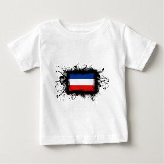 ユーゴスラビアの旗 ベビーTシャツ
