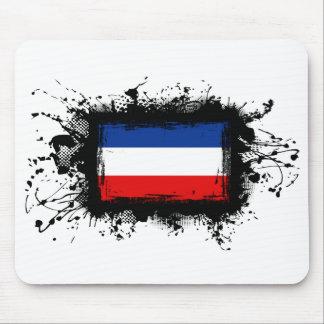 ユーゴスラビアの旗 マウスパッド