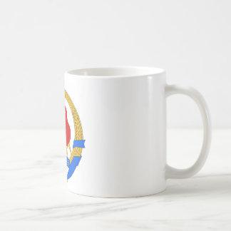 ユーゴスラビア連邦共和国の社会主義紋章 コーヒーマグカップ
