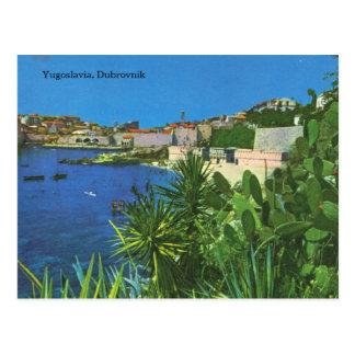 ユーゴスラビア、ドゥブロブニク ポストカード