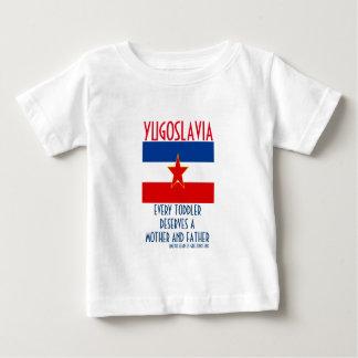 ユーゴスラビア ベビーTシャツ