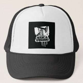 ユーティカの誇りを持ったな帽子の黒 キャップ