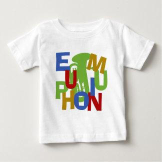ユーフォニアムの争奪 ベビーTシャツ