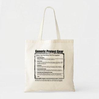 ユーモアのあるで一般的な抗議のギア トートバッグ