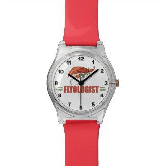 ユーモアのあるなはえの魚釣り 腕時計