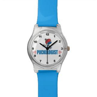ユーモアのあるなアイスホッケー 腕時計