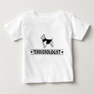 ユーモアのあるなオーストラリアンテリア ベビーTシャツ