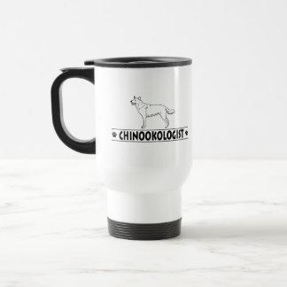 ユーモアのあるなチヌック犬 トラベルマグ