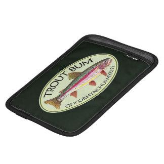 ユーモアのあるなニジマスののらくら者の魚釣り iPad MINIスリーブ