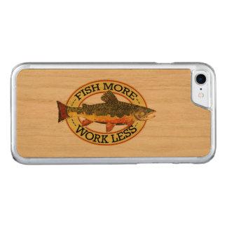 ユーモアのあるなマスの魚釣り CARVED iPhone 8/7 ケース