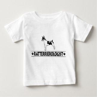 ユーモアのあるなラットテリア ベビーTシャツ