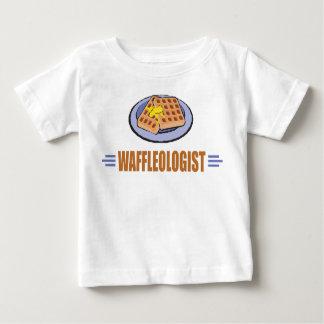 ユーモアのあるなワッフルのシェフ ベビーTシャツ