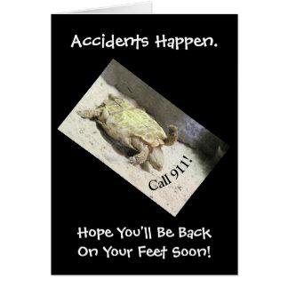 ユーモアのあるな事故CARD/TURTLE逆さま/CUSTOMI カード