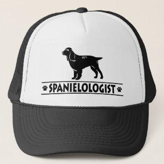 ユーモアのあるな分野スパニエル犬 キャップ