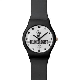 ユーモアのあるな猫 腕時計