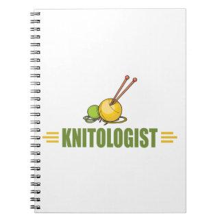 ユーモアのあるな編み物 ノートブック