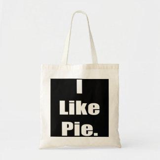 ユーモアIはパイミームを好みます トートバッグ