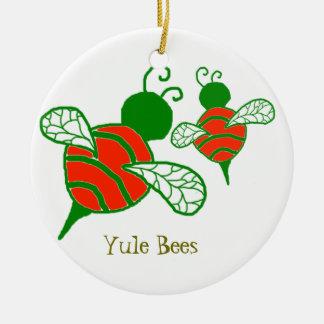 ユール(キリスト降誕祭)の蜂の休日のオーナメント セラミックオーナメント