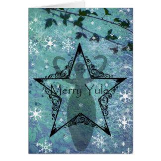 ユール(キリスト降誕祭)カード女神 カード
