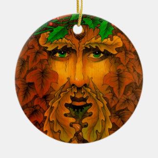 ユール(キリスト降誕祭)王 セラミックオーナメント