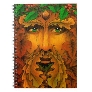 ユール(キリスト降誕祭)王 ノートブック