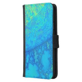 ユーロパのくらげ3Dのフラクタルすべての電話 GALAXY S5 ウォレットケース