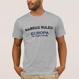 ユーロパ- Markusの規則! Tシャツ