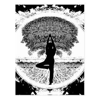 ヨガそして生命の樹 ポストカード