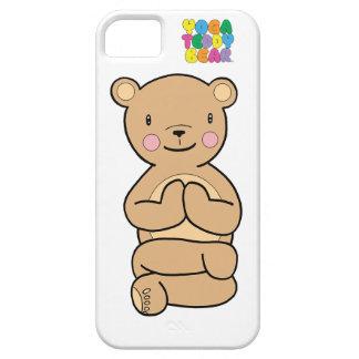 ヨガのテディー・ベアのナマステの電話箱 iPhone SE/5/5s ケース