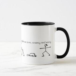 ヨガのマグ マグカップ