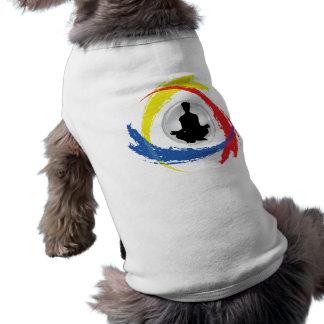 ヨガの三色の紋章 ペット服
