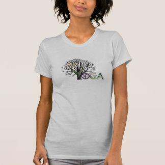 ヨガの平和 Tシャツ