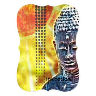 ヨガの黙想のニューエイジの精神的な禅仏 カード