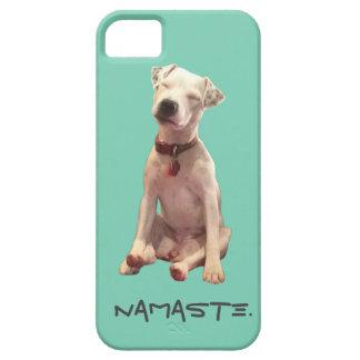 ヨガ犬のナマステ iPhone SE/5/5s ケース