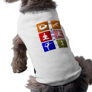 ヨガ犬のワイシャツ ペット服