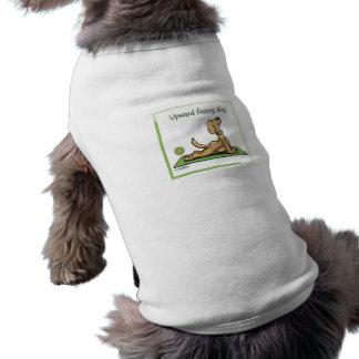 ヨガ犬-上向きの表面仕上げ犬の姿勢 ペット服