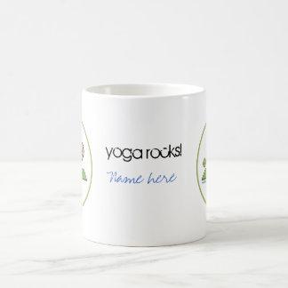 ヨガ-クレーン コーヒーマグカップ