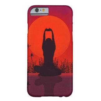 ヨガ、黙想、ファッション、フィットネス BARELY THERE iPhone 6 ケース