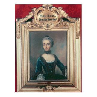 ヨセフのババリア第2の妻のマリアJosepha ポストカード