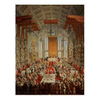 ヨセフの即位の宴会ブランクフルトのII ポストカード