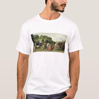 ヨセフはエジプト1628年の彼の父を受け取ります Tシャツ